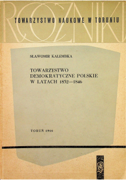 Towarzystwo demokratyczne polskie w latach 1832 1846