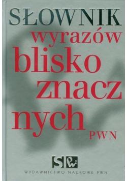 Słownik wyrazów bliskoznacznych plus płyta CD