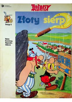 Asterix Złoty sierp Zeszyt 2