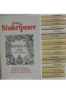 Shakespeare Dzieła 15 tomów