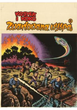 Kajtek i Koko Zwariowana wyspa tom II
