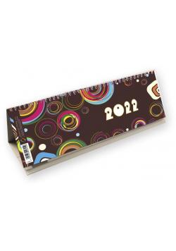 Kalendarz 2022 poziomy ze spiralką T-100-2-07
