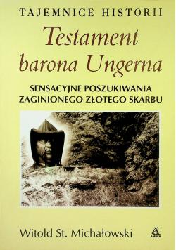 Testament barona Ungerna