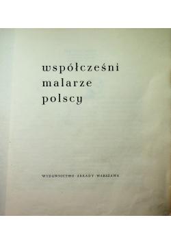 Współcześni malarze polscy