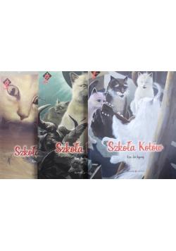 Szkoła kotów 3 tomy