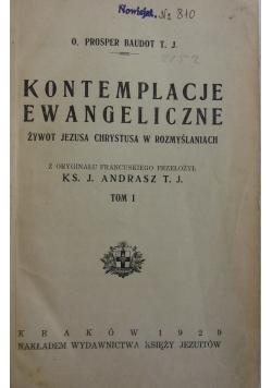 Kontemplacje ewangeliczne  tom I  1929 r.