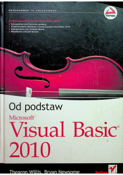 Od podstaw Microsoft Visual Basic 2010