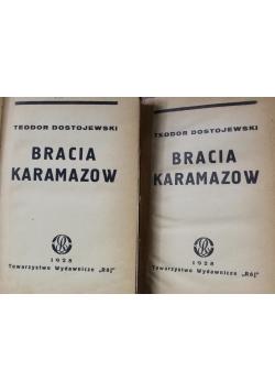 Bracia Karamazow 1928 r Tom I i II