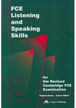 FCE listrening and speaking skills