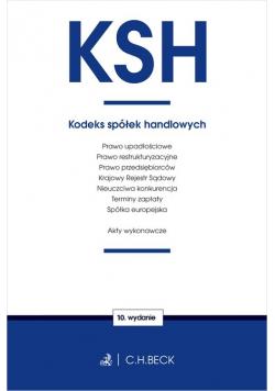 KSH Kodeks spółek handlowych oraz ustawy towarzyszące