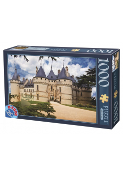Puzzle 1000 Francja, Zamek Chaumont