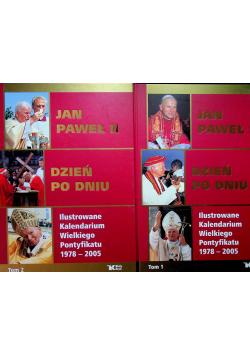 Jan Paweł II Dzień po dniu Tom I i II