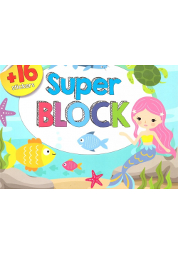 Superblok 16 naklejek w.2018