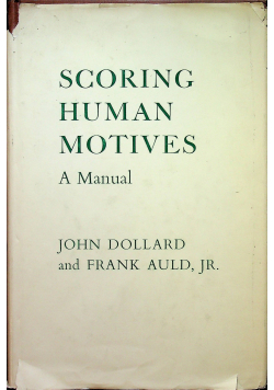 Scoring human motives