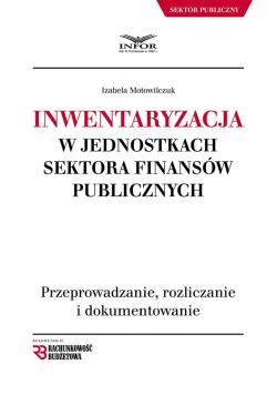 Inwentaryzacja w jednostkach sektora finansów pub.