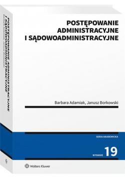 Postępowanie administr. i sądowoadministracyjne