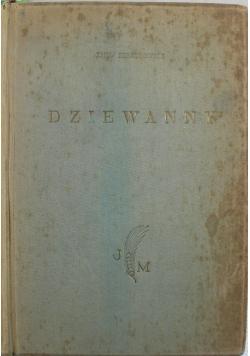 Dziewanny 1927 r.