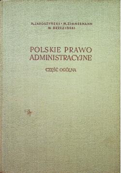 Polskie prawo administracyjne
