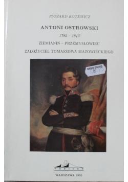 Ziemianin Ostrowski 1792 do 1845 ziemianin przemysłowiec