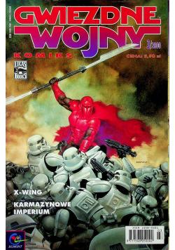 Gwiezdne wojny 3/2000 X Wing Karmazynowe Imperium
