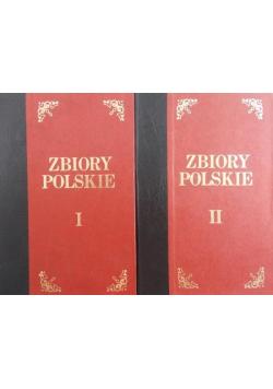 Zbiory polskie 2 tomy Reprint z ok 1927 roku