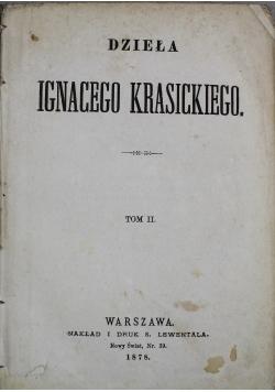 Dzieła Ignacego Krasickiego tom II 1878 r.