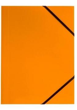 Teczka A4 kart. z gumką nar. pom. (6szt.) BT600-P