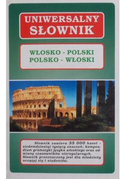 Uniwersalny słownik włosko  polski polsko  włoski