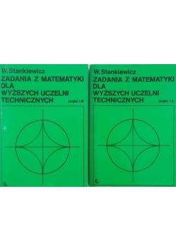 Zadania z matematyki dla wyższych uczelni technicznych Część I A i I B