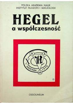 Hegel a współczesność
