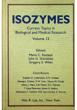 Isozymes volume 13