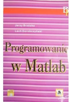 Programowanie w Matlab plus dyskietka