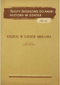 Galicja w latach 1864-1914