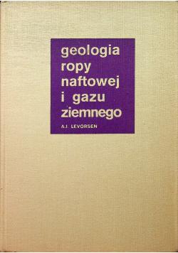 Geologia ropy naftowej i gazu ziemnego