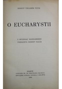 O Eucharystii 1939 r