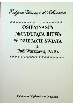 Osiemnasta decydująca bitwa w dziejach świata reprint z 1932 r