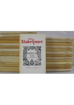Shakespeare Dzieła 29 tomów
