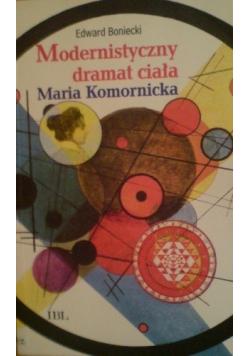 Modernistyczny dramat ciała Maria Komornicka
