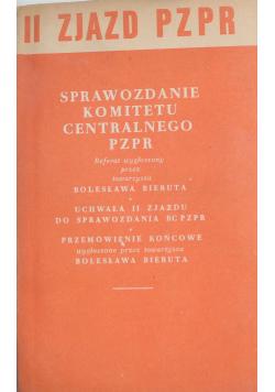 Sprawozdanie komitetu centralnego PZPR