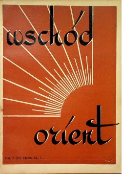 Wschód Orient numer 3 1938r