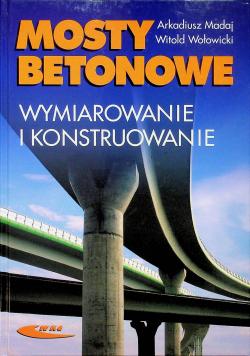 Mosty betonowe Wymiarowanie i konstruowanie