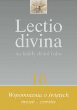Lectio divina na każdy dzień roku tom 16