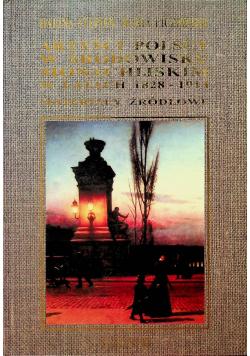Artyści polscy w środowisku monachijskim w latach 1828 - 1914