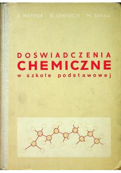 Doświadczenia chemiczne w szkole podstawowej
