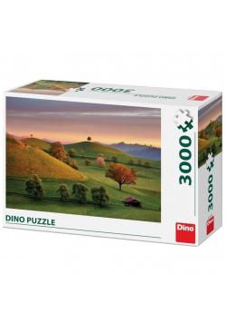 Puzzle 3000 Szwajcaria,Widok na pola