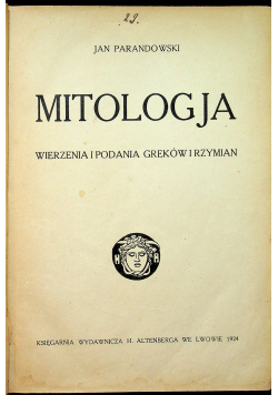 Mitologja, 1924 r.