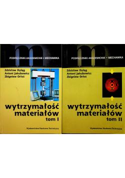 Wytrzymałość materiałów 2 tomy