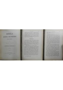 Dzieła Józefa Szujskiego 3 tomy 1888 r