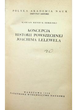 Koncepcja historii powszechnej Joachima Lelewela