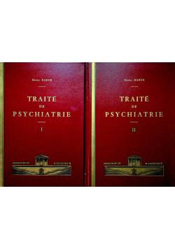 Traite de Psychiatrie 2 tomy